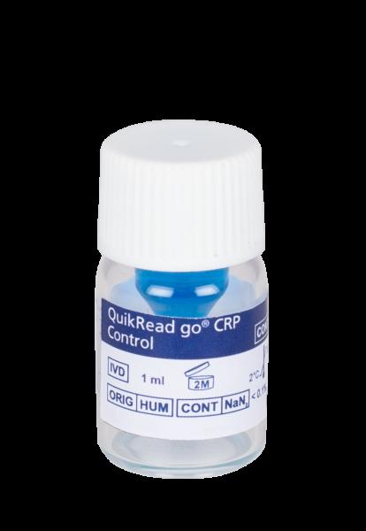 QuikRead go CRP Kontrolle